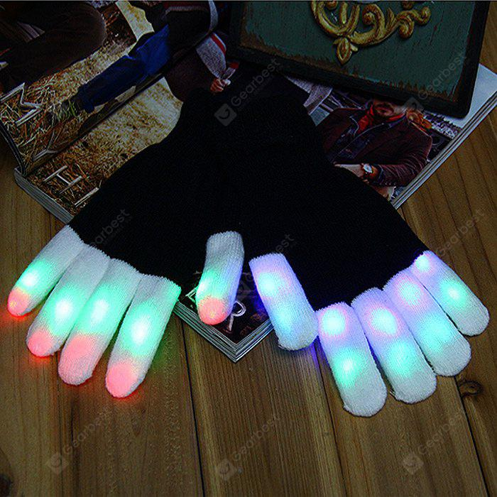 6-Mode LED Glowing Gloves