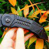 SR B498B Vintage Folding Knife - BLACK