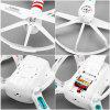 Helicute H805 X - drone Scout 6 Axis Gyro 4CH 2.4G RC Quadcopter with 3D Eversion Aircraft - WHITE