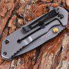 Sanrenmu 7056 LUP - SK Mini Hunting Knife - BLACK GRAY