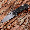 Sanrenmu 7056 LUF-GHP-T4 Foldable Knife - BLACK AND GREEN