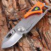 SANRENMU 6050 LUF-PJ-T4 Foldable Knife - ORANGE