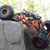 HSP 94880 1 / 8 Scale 2.4GH RC Rock Crawler Off-road Truck Fast Car Model with Shock Absorber - SILVER GRAY
