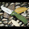 Ganzo G724M - GR Portable Axis Locking Foldable Camping Hunting Knife 440C Stainless Steel Blade - ARMY GREEN