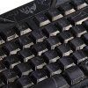 M-200 3 Colors Backlight Wired Gaming Keyboard for Windows XP Vista 7 8 Mac - BLACK
