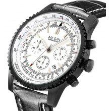 MEGIR 2009 Men Japan Quartz Watch