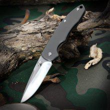 Sanrenmu 7073 LUX - SK Foldable Knife with Steel Blade Color