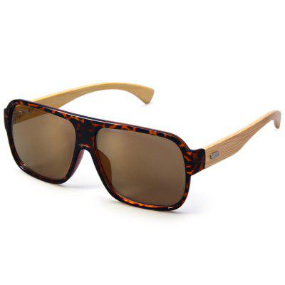 Anti-UV Wooden-earstems Sunglasses