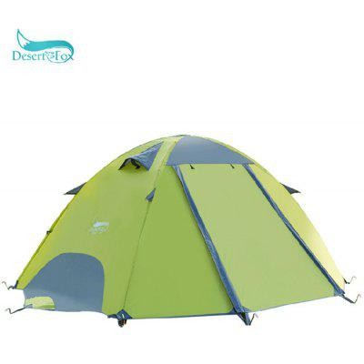 Desert Fox Double Layers Camping Tent for 2 - 3 Persons