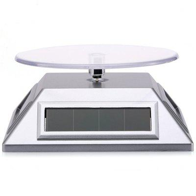 Solar Power Display Stand Rotating Showcase