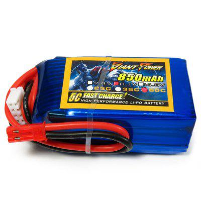 Giant Power Battery 850mAh 11.1V / 3S 50C Spare Part T - REX 250 RC Helicopter