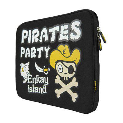 ENKAY ENK - 2101 Pirates Pattern 14 inch Laptop Tablet Sleeve Bag