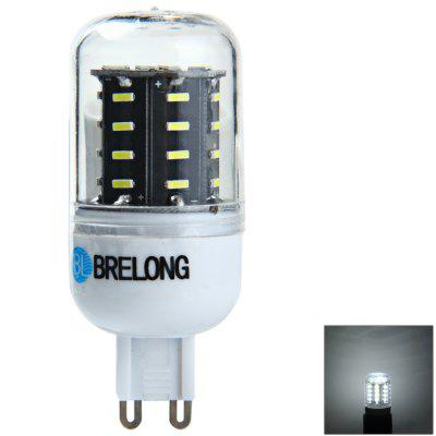 BRELONG G9 6W SMD 4014 LED Corn Bulb