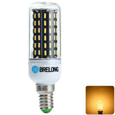 BRELONG E14 16W SMD 4014 LED Corn Bulb