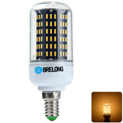BRELONG E14 8W SMD 4014 LED Corn Bulb