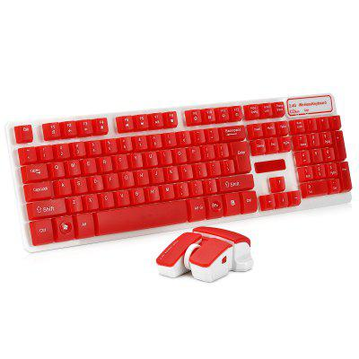 HK - 5200 Wireless Keyboard and Mouse