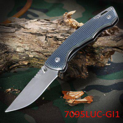 Sanrenmu 7095 LUC - GI1 Foldable Knife with Line Locking