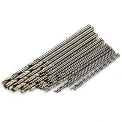 20PCS Mini HSS Twist Drill Bit Set