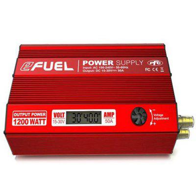 SKYRC Efuel 1200W 50A DC 15 - 30V Power Supply SK - 200015 ( EU Plug )