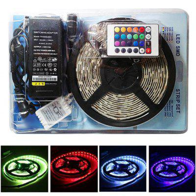 5M 300 - SMD 5050 LED RGB Strip Lamp for Christmas Decoration