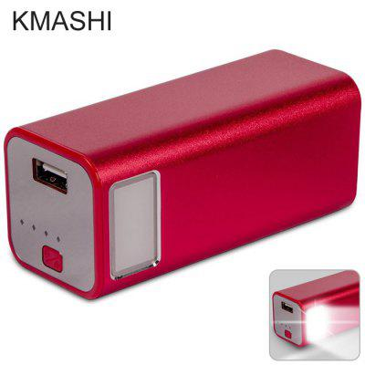 KMASHI MP806 2 in 1 10000mAh Mobile Power Bank Emergency LED Flashlight
