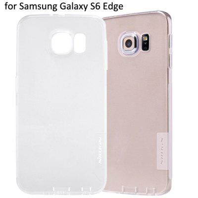 Nillkin Transparent TPU Phone Protective Back Cover Case with Ultrathin Design for Samsung Galaxy S6 Edge