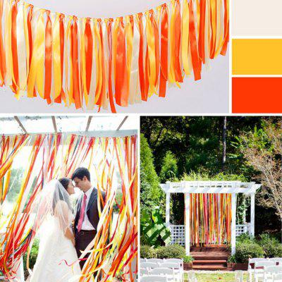 1m Tasseled Ribbon Wedding Ornaments