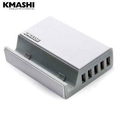 KMASHI Pando K3 Detachable US Plug Adapter 5 USB Port Power Charger Stand Design Charging Station Dock