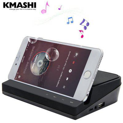 KMASHI Arma K2 2 in 1 Bluetooth Speaker 2600mAh Power Bank Charger with Mic Stand Function Support TF Card