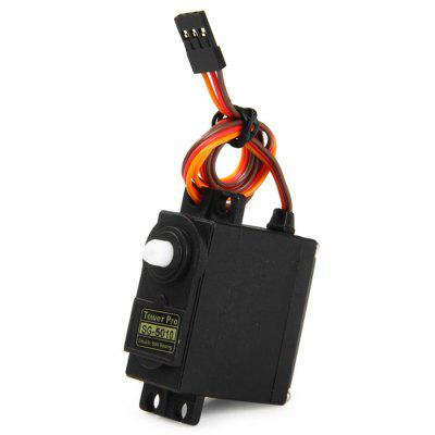 Towerpro SG - 5010 Analog Servo Gear with Cross Arm for RC Models Biped Robotics