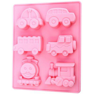 Silicone Train Design DIY Baking Mold