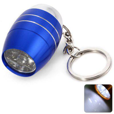 Mini 5 LED Bright White Light Keychain for Outdoor Camping / Hiking
