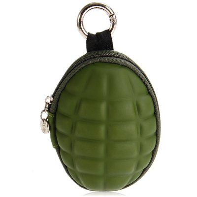 Mini Grenade Shaped Coin Wallet Key Bag
