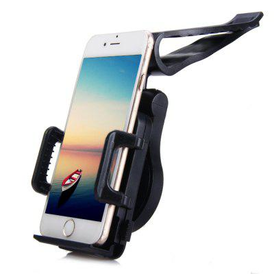 360 Degree Rotatable Phone Holder Bracket with Visor Clip