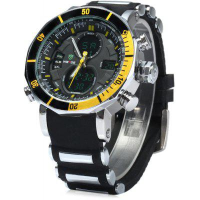 Weide Japão Dual Movt LED Sports Watch