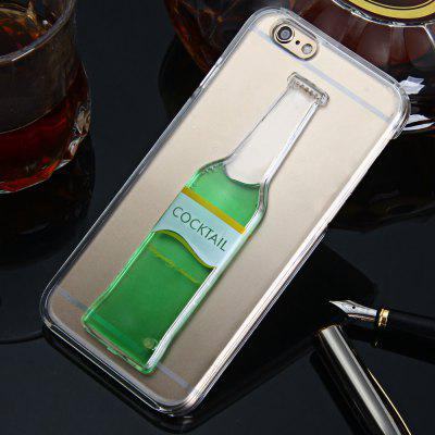 3D Cocktail Bottle Cover Case for Apple iPhone 6 6S