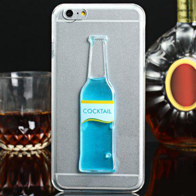3D Cocktail Bottle Cover Case for Apple iPhone 6 Plus 6S Plus