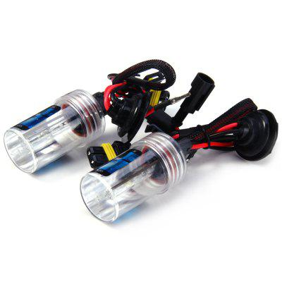 2pcs H11 12V 55W 4000lm 4300K HID Xenon White Light Car Headlamp