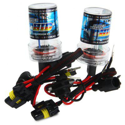 2pcs H11 12V 3600lm 35W 8000K Car HID Xenon Headlamp with Cool White Light