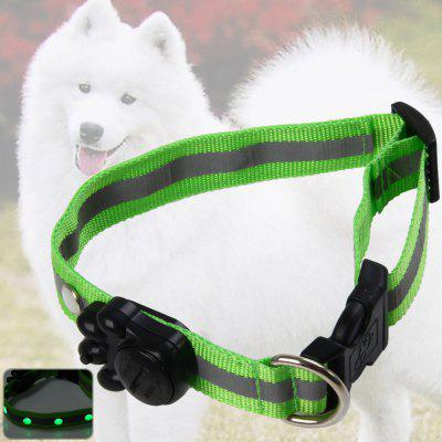 2.5cm LED Nylon Pet Collar