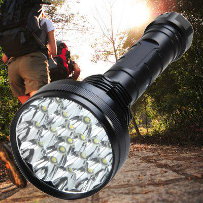 21 x Cree XML T6 LED Police Large Flashlight