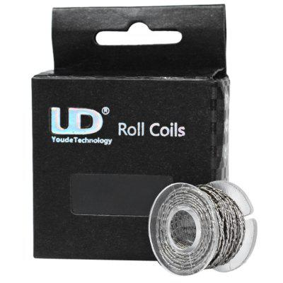 Original Youde 5 Meters 28AWG  x 2 + 0.5 x 0.1mm Triple Wires Twisted Kanthal Resistance Wire Roll E - cigarette Coils for Atomizers DIY