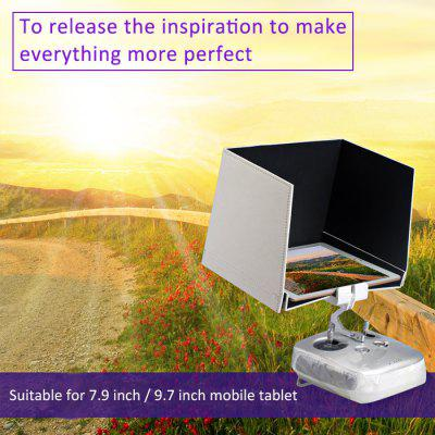 5.5 Inch FPV Cellphone Sun Hood Shade for DJI Inspire 1 / Phantom 3 RC Quadcopter