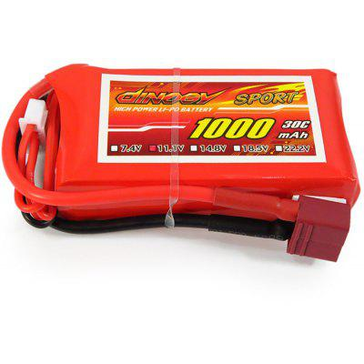 Giant Power Battery 3S / 11.1V 1000mAh 30C Fitting for RC Helicopter / Airplane Glider