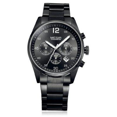 MEGIR 2010 Men Japan Quartz Watch