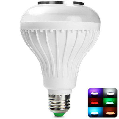 BRELONG E27 12W Bluetooth Music BulbSmart Lighting<br>BRELONG E27 12W Bluetooth Music Bulb<br><br>Available Light Color: Colorful<br>Brand: BRELONG<br>Bulb Base Type: E27<br>Emitter Types: COB<br>Features: Remote-Controlled<br>Function: Home Lighting, Commercial Lighting<br>Luminous Flux: 1080Lm<br>Output Power: 12W<br>Package Contents: 1 x E27 12W COB LED Music Bulb, 1 x Remote Controller, 1 x English Manual<br>Package size (L x W x H): 15.00 x 12.00 x 12.00 cm / 5.91 x 4.72 x 4.72 inches<br>Package weight: 0.3190 kg<br>Product size (L x W x H): 13.00 x 9.00 x 9.00 cm / 5.12 x 3.54 x 3.54 inches<br>Product weight: 0.2020 kg<br>Sheathing Material: Plastic<br>Total Emitters: 12<br>Type: Ball Bulbs<br>Voltage (V): 100-240V