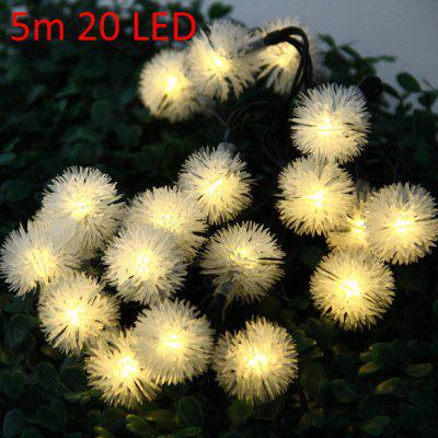 5m 20 LED Solar String Light for Xmas Party