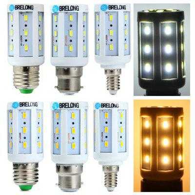 BRELONG B22 / E14 / E27 5W LED Corn Bulb