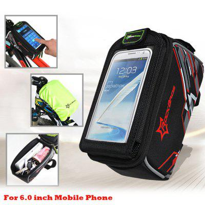 ROCKBROS Bicycle Front Tube Bag
