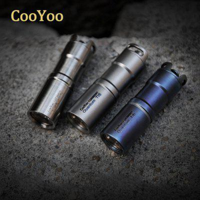 CooYoo Quantum Ti LED Flashlight